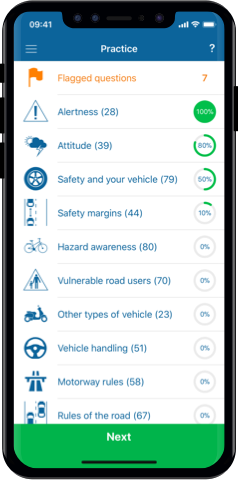 Driving Theory Test UK for iPhone, Mac and Android- Practice Test