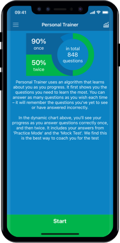 PCV Theory Test 2019 UK for iPhone, Mac and Android- Personal Trainer